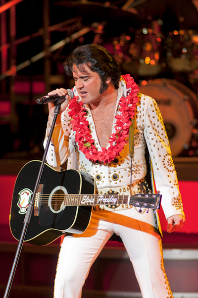 Elvis Presley Tribute Artist in Hawaii